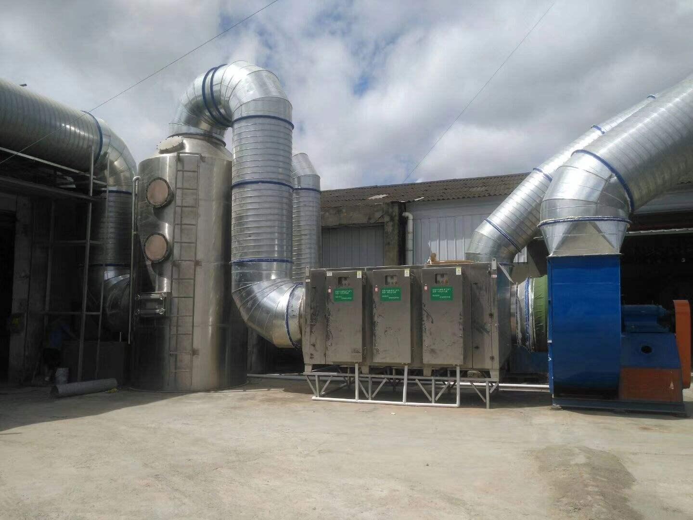 制药行业废气处理工程